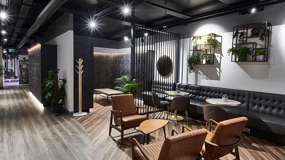 Lounge, Warteräume und Speisesäle